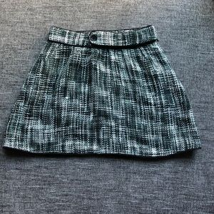 BDG tweed high-waisted skirt